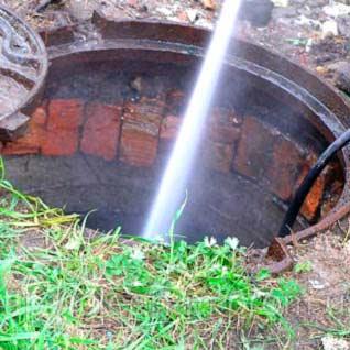 Оперативная ликвидация аварий канализации