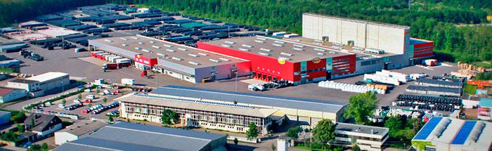 Производственный комплекс Otto Graf GmbH
