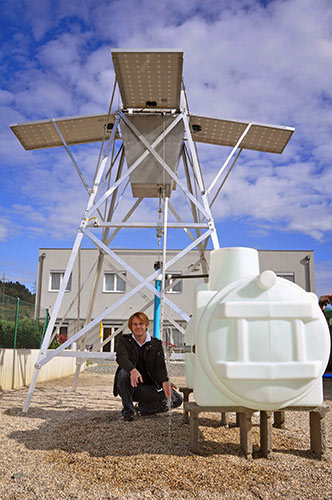 Создатель установки и президент австрийской компании Pumpmakers - Дитмар Штук