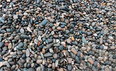 Простой гравий - прекрасный фильтрующий материал